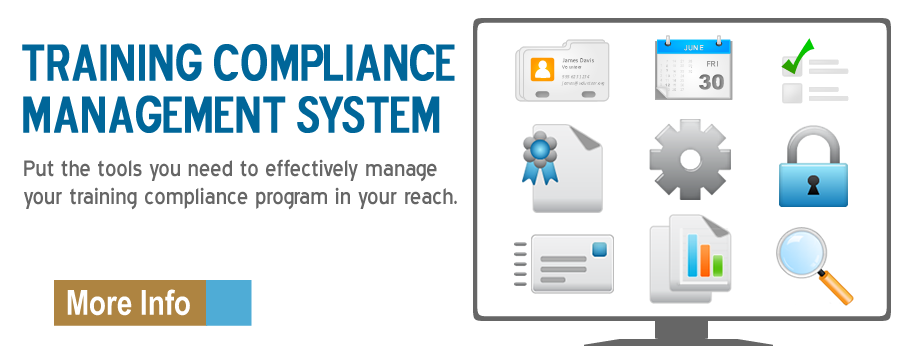 Training compliance management system