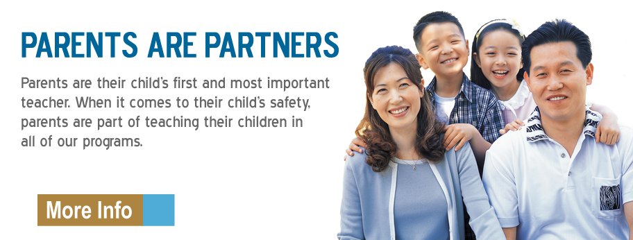 Parents are partners in teaching children.